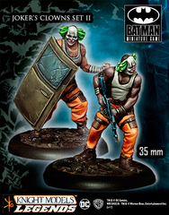 Batman Miniature Game: Joker's Clowns II Knight Models