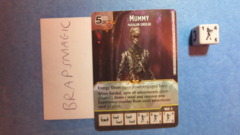 Dungeons & Dragons Dice Masters: Mummy, Paragon (rare)