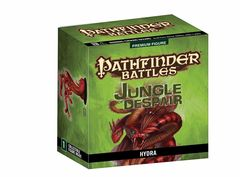 Pathfinder Battles Miniatures Hydra Jungle of Despair promo