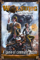 Wolsung RPG: steam pulp fantasy roleplaying base/core rulebook