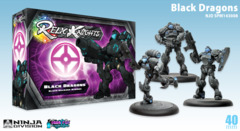 Relic Knights: Dark Space Calamity Black Dragons (black diamond)