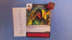 Marvel Dice Masters: Vision, Density Control #60 (common)