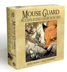 Mouse Guard RPG: Boxed Set base/core (2nd edition)