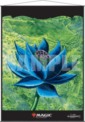 Ultra Pro: Black Lotus silk fabric Wall Scroll
