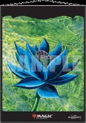 Ultra Pro: PRESALE Black Lotus silk fabric Wall Scroll