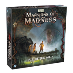 Mansions of Madness: Call of the Wild expansion fantasy flight