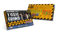 Zombicide: Toxic Crowd expansion box of zombies set 2