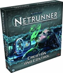 Android Netrunner LCG: Creation and Control expansion set