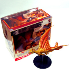 D&D miniatures: GARGANTUAN Ancient Huge Brass Dragon Tyranny of Dragons promo