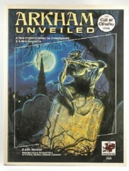 Call of Cthulh RPG: Arkham Unveiled + all pullouts chaosium