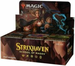 MTG magic cards: Strixhaven Draft Booster Box ENGLISH
