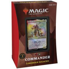 MTG - Commander 2021: Lorehold Legacies complete deck
