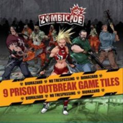 Zombicide: 9 Prison Outbreak Game Tiles
