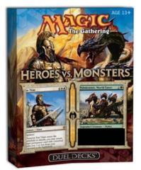 MTG: magic the gathering Heroes vs. Monsters duel decks
