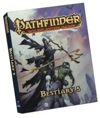 Pathfinder RPG: PRESALE Bestiary 5 (Pocket Edition) Paizo