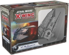 Star Wars X-Wing miniatures game VT-49 Decimator expansion fantasy flight