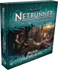 Android Netrunner LCG: Reign and Reverie deluxe expansion