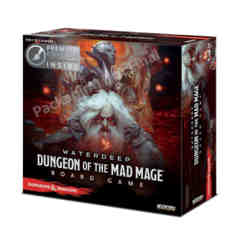 Dungeons and Dragons: Dungeon of the Mad Mage Board Game deluxe edition Wizkids
