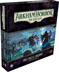 Arkham Horror LCG: living card game The Circle Undone deluxe expansion FFG