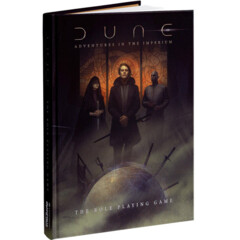 Dune - Adventures in the Imperium RPG: PRESALE core rulebook regular edition modiphius