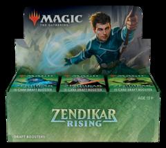 MTG: Zendikar Rising draft booster box display