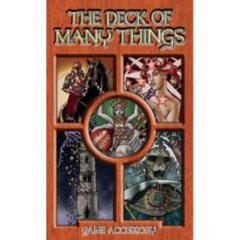 Dungeons & Dragons RPG: The Deck of Many Things gaming accessory green ronin