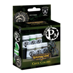 P3 Acrylic Paint: Cryx Colors set privateer press pip93004