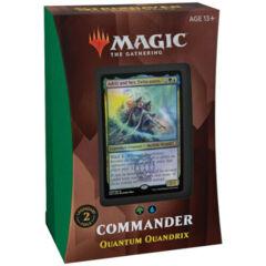 MTG - Commander 2021: Quantum Quandrix complete deck
