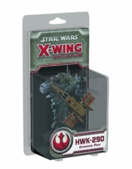 Star Wars X-Wing miniatures game HWK-290 Light Freighter pack fantasy flight