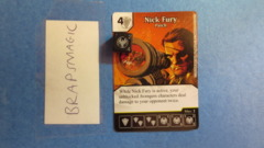 Marvel Dice Masters: Nick Fury, Patch #115 (rare)