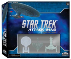 Star Trek Attack Wing: base/core set miniatures game wizkids