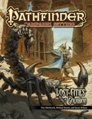 Pathfinder Campaign Setting RPG Roleplaying Game: Lost Cities of Golarion