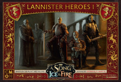 A Song of Ice & Fire Miniatures Game: PRESALE Lannister Heroes #1 box
