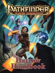 Pathfinder Player Companion RPG Roleplaying Game: Harrow Handbook