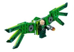 LEGO Spider-Man: Vulture minifigure + wings and gun 76114 (authentic)