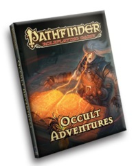 Pathfinder Roleplaying Game RPG: Occult Adventures hardcover