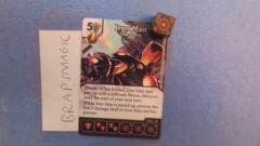 Marvel Dice Masters: Iron Man, Superhero #103 (rare)
