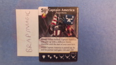 Marvel Dice Masters: Captain America, Superhero #100 (rare)