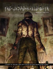 Call of Cthulhu RPG: The Unspeakable Oath #20 magazine