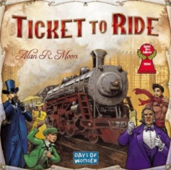 Ticket to Ride: base/core board game days of wonder