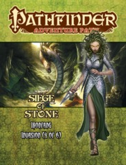 Pathfinder Adventure Path: Ironfang Invasion part 4 - Siege of Stone