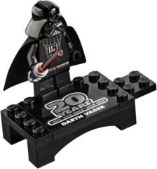 LEGO Star Wars 20th anniversary: Darth Vader minifigure + light saber 75261 authentic