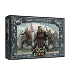 A Song of Ice & Fire Miniatures Game: PRESALE Stark Umber Berserkers unit box