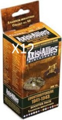 Axis & Allies: Counter Offensive sealed booster case (12-count)