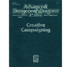 AD&D Dungeons & Dragons RPG: Creative Campaigning TSR