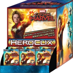 Heroclix: PRESALE Captain Marvel Past 24-ct. gravity feed booster display