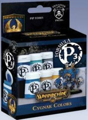P3 Acrylic Paint: Cygnar Colors set privateer press pip93001