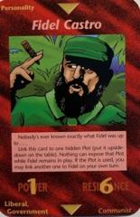 Illuminati - New World Order CCG: Fidel Castro