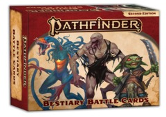Pathfinder RPG: PRESALE Bestiary Battle Cards (P2) paizo