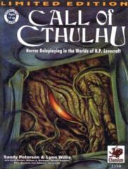 Call of Cthulh RPG: Limited 5th Edition hardcover core rulebook chaosium